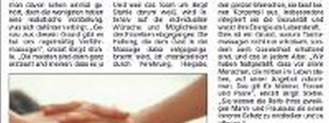 LaLita in der Leipziger Volkszeitung 27.11.2009