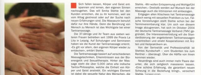 LaLita im Leiziger Stadtmagazin Kreuzer vom Juni 2005