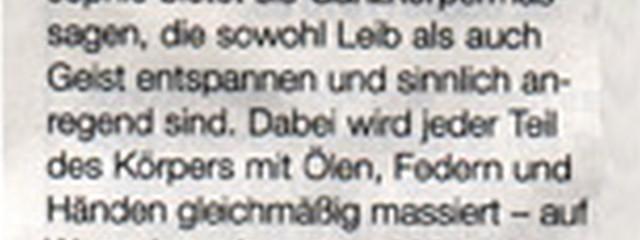 LaLita im Stadtmagazin Prinz Leipzig vom November 2005