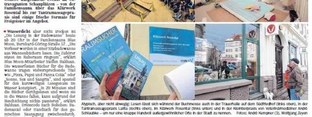 LaLita in der Leipziger Volkszeitung im März 2013