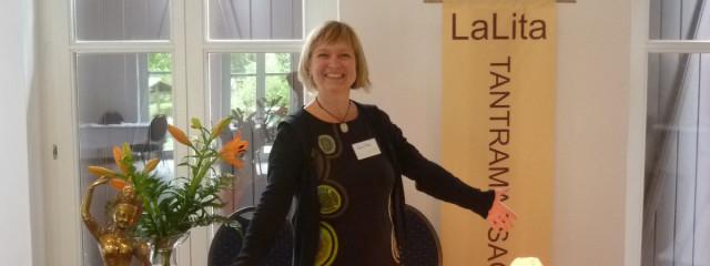 LaLita auf der Tantramassage-Konferenz in Leipzig