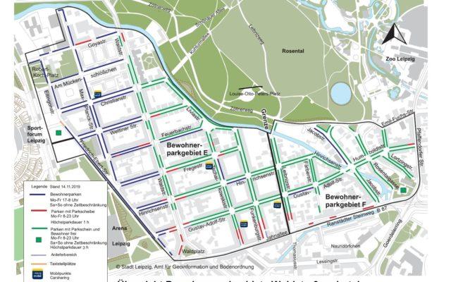 Parken rund um die Leibnizstraße